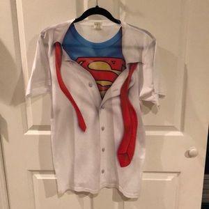 Novelty Superman t-shirt szMed